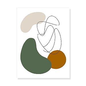 Placa Decorativa Organico 2