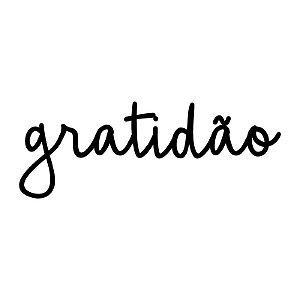 Lettering GRATIDÃO