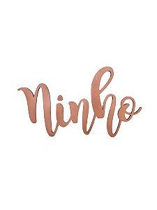 Lettering NINHO COBRE