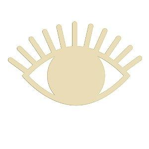 Espelho Dourado Olho