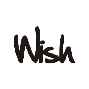 Lettering wish