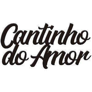 Lettering Cantinho do amor