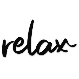Lettering Relax