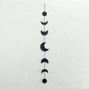 Móbile fases da Lua PRETO