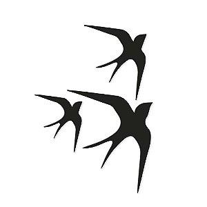 Decorativo Trio Andorinhas