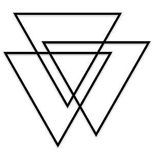 Decorativo Triângulos