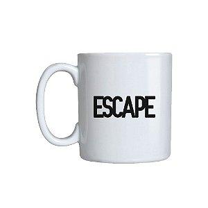 Caneca cerâmica Escape