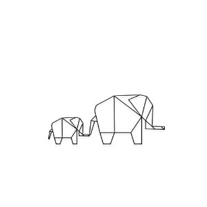 Decorativo Elefantes