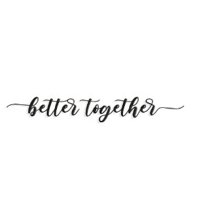 Lettering Better Together