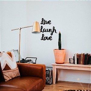 Lettering Live Laugh Love
