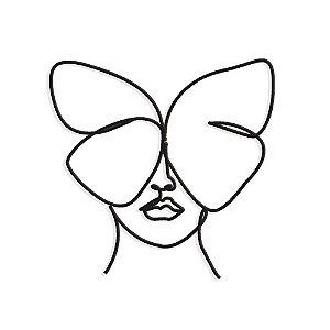 Decorativo Oneline Borboleta