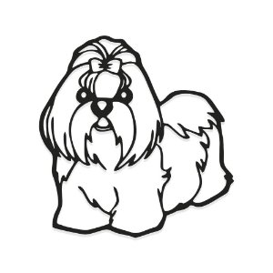 Decorativo Shih-tzu
