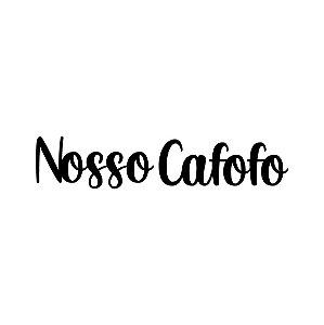 Lettering Nosso cafofo