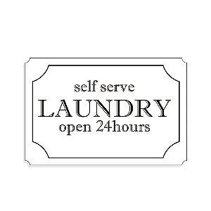 Placa Decorativa Self serve