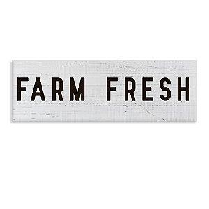 Placa Decorativa Farm Fresh