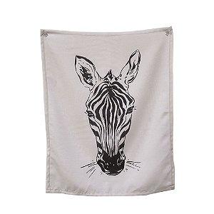 Bandeira de Parede Zebra