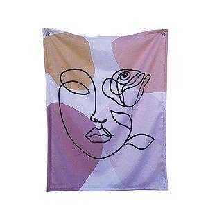 Bandeira de Parede Rosto
