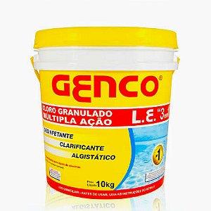 CLORO 3EM1 L.E 10KG BALDE GENCO