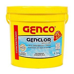 CLORO ESTABILIZADO 60% GENCLOR 10KG BALDE GENCO