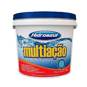 CLORO MULTIAÇÃO 10KG BALDE HIDROAZUL