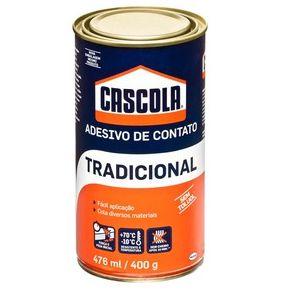 Adesivo de contato Tradicional Cascola 476ml / 400g