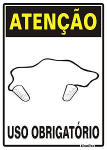 ATENÇÃO USO OBRIGATÓRIO DE PROTETOR AURICULAR