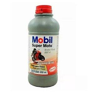 Oleo Mobil Fluido Para Freios 200 Ml Dot 4