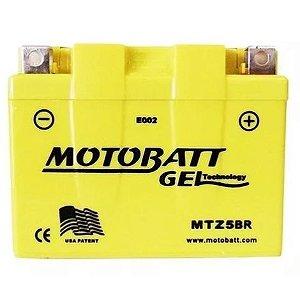 Bateria Motobatt Mtz5Br Gel