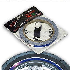 Adesivo Friso Roda Speed Style Azul