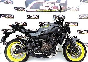 Escapamento Yamaha Mt-07 2015 a 2020 Full Completo