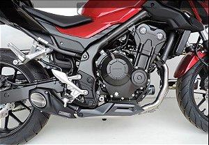 Escapamento Honda  Cb500f 2016 a 2020 Full Completo