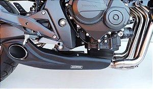 Escapamento Honda Hornet 2008 a 2014 Full Completo