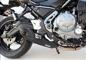 Escapamento Kawasaki  Z650 Ninja 650 2017 a 2020 full