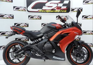 Escapamento Kawasaki Er6N & Ninja 650 2012 a 2016