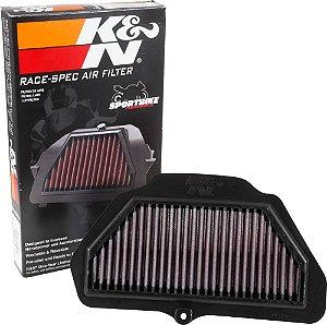 Filtro de ar kn KAWASAKI ZX 10R RACE 17 K&N KA-1016R