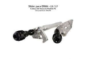 Slider Er6n 13 a 17 Kawasaki Procton