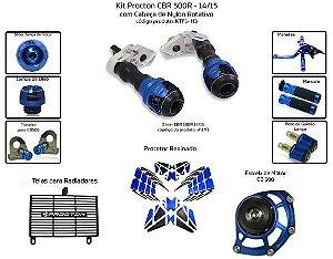 Kit Slider Cbr 500r 14/15 Procton (10 pçs)