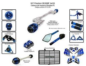 Kit Slider Cb 650f  14/15 Procton (13 pçs)