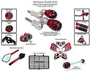Kit Slider Cb 650f 18/19 Procton (12 pçs)