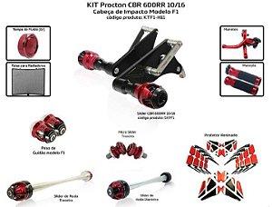 Kit Slider Cbr 600rr 10 a 16 Procton (10 peças)