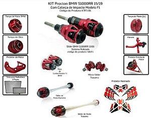 Kit Slider S1000rr 15 a 19 Procton ( 13 peças )