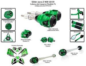 Kit Slider z900 18/19 Procton (12 peças)