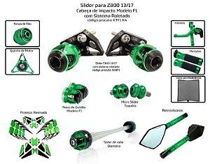 Kit Slider z800 13 a 17 Procton ( 11 peças )