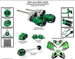 Kit Slider Z650 18 a 20 Procton ( 12 peças )