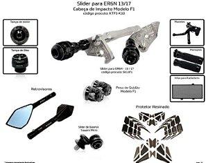 Kit Slider Er6n 13 a 17 Procton ( 10 peças )
