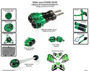 Kit Slider Z1000 10 a 20 Procton ( 12 peças )