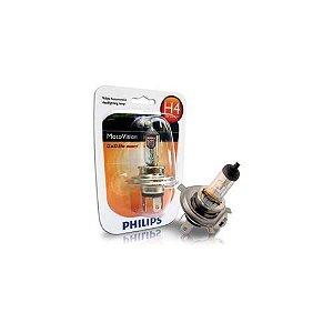 Lâmpada Farol Philips H4 35/35 Motovision Ed