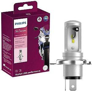 Lâmpada Farol Philips H4 Led Ultinon Moto