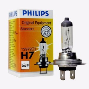 Lâmpada Farol Philips H7 55W