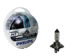Lâmpada Farol Philips H7 55W x-Tremevision